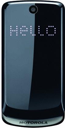 Motorola Gleam graphite grey