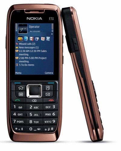 Nokia E51 rose