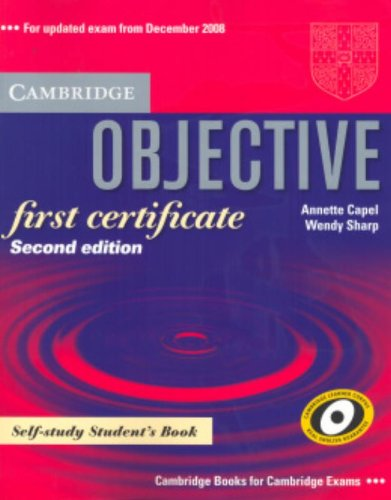 Objective First Certificate Self-Study Student´...