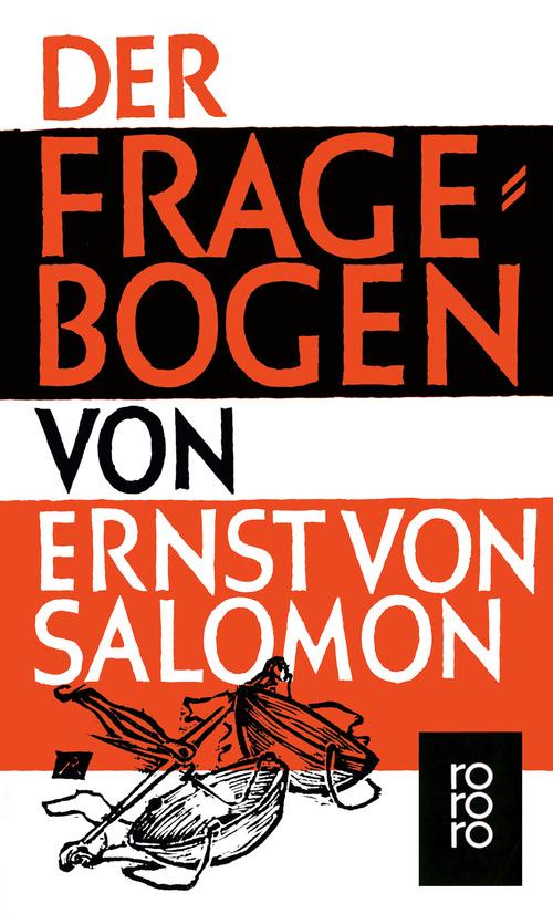 Der Fragebogen - Ernst von Salomon