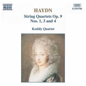 Kodaly-Quartett - Haydn: Streichquartette Op. 9, 1,3,4