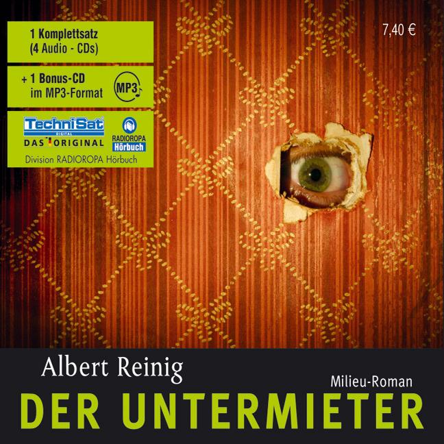 Der Untermieter - Albert Reinig [5 CDs]