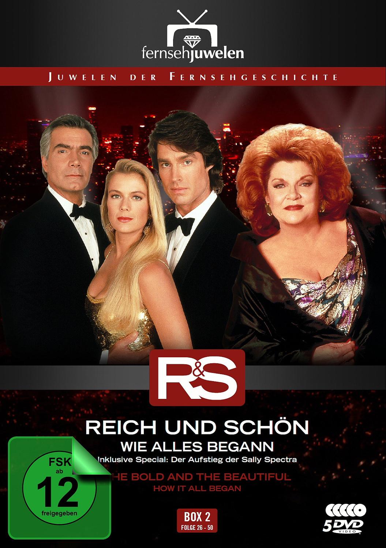 Reich und schön - Box 2: Wie alles begann [5 DVDs]