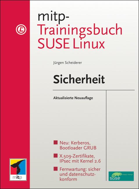 mitp-Trainingsbuch SuSE Linux Sicherheit - Jürg...