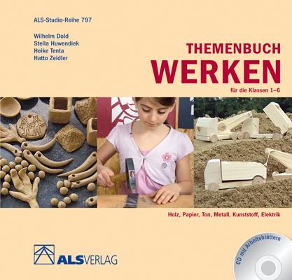 Themenbuch Werken für die Klassen 1-6, m. CD-ROM - Ingrid Kreide