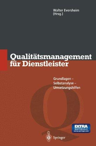 Qualitätsmanagement für Dienstleister - Walter ...