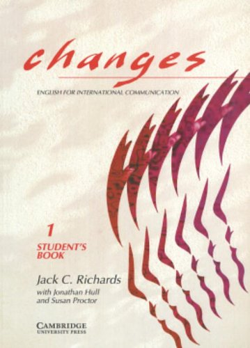 Changes 1 Student´s Book: English for Internati...