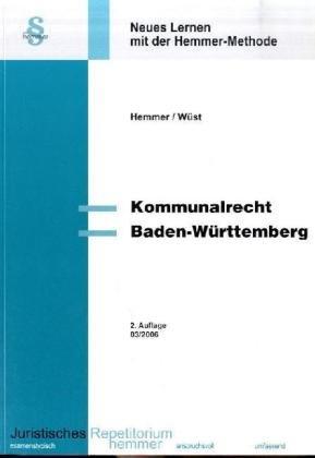 Kommunalrecht Baden-Württemberg - Hemmer