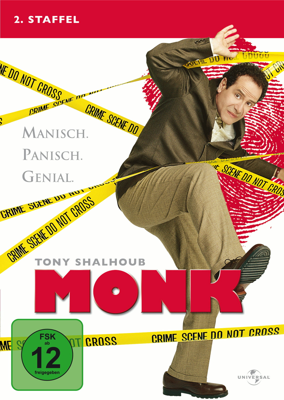 Monk - 2. Staffel [4 DVDs]