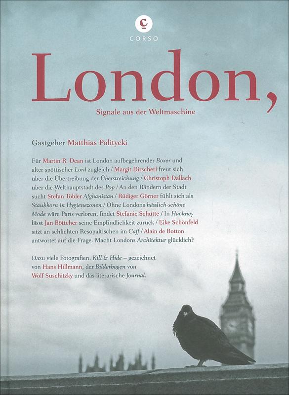 London,: Ränder, Caffs und Parallelen - Signale aus der Weltmaschine