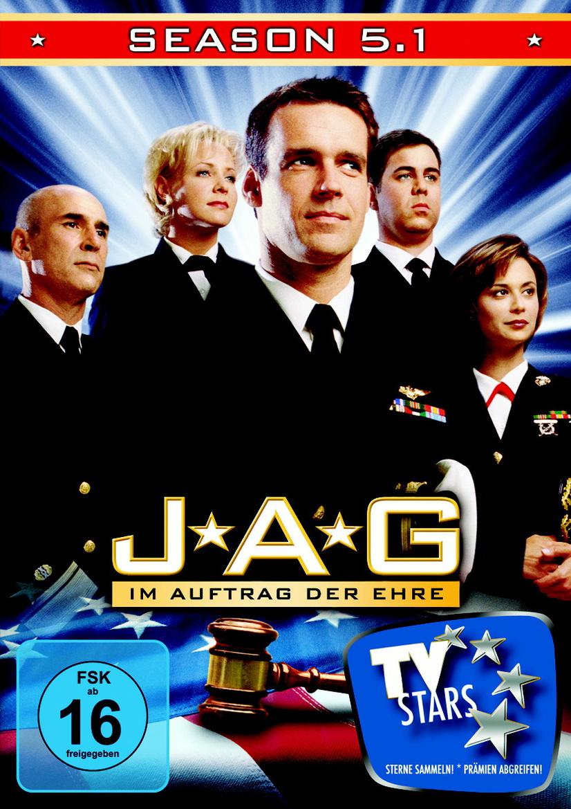 JAG - Im Auftrag der Ehre - Season 5.1 [3 DVDs]