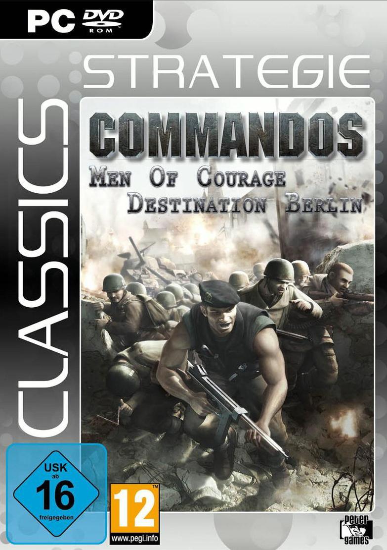 Commandos: Men of Courage / Destination Berlin ...