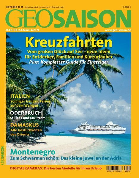 Geo Saison Kreuzfahrten: Italien / Oderbruch / ...
