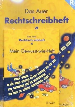 Das Auer Sprachbuch, Ausgabe Bayern, neue Rechtschreibung, Das Auer Rechtschreibheft, 2 Tle.: inkl. Gewusst-wie-Heft - Ruth Dolenc