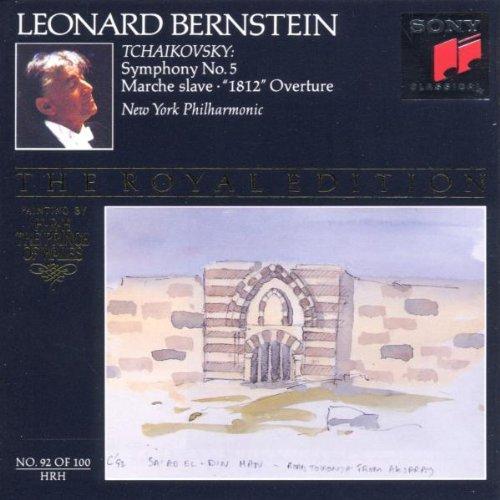 Leonard Bernstein - Sinf.5/1812-Ouv./Slaw.Marsch