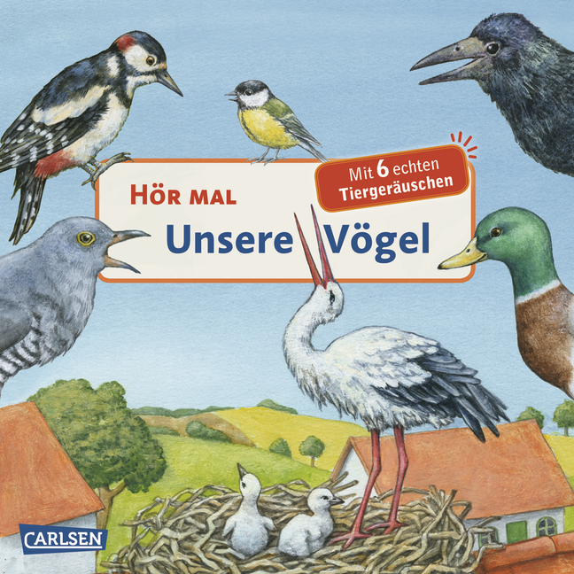 Hör mal: Hör mal - Unsere Vögel - Anne Möller