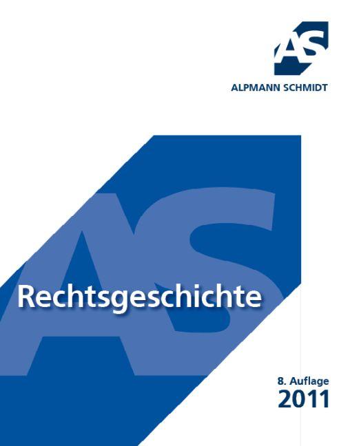 Rechtsgeschichte - Prof. Dr. Rainer Schröder
