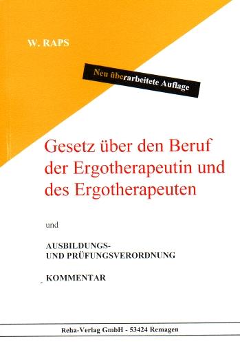 Gesetz über den Beruf der Ergotherapeutin und d...