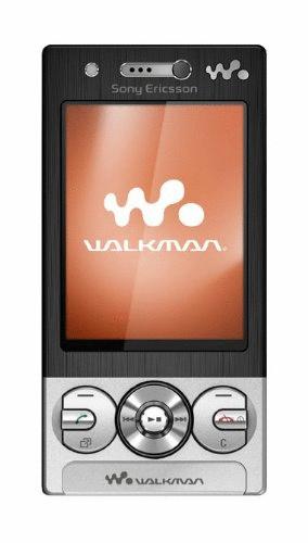 Sony Ericsson W705 midnight silver