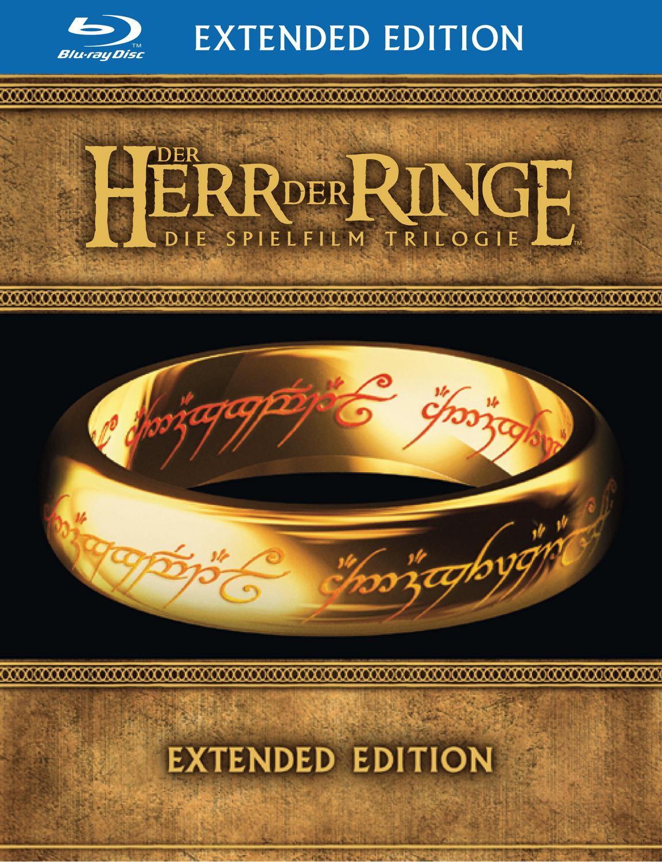Der Herr der Ringe - Die Spielfilm Trilogie [Extended Edition, 6 Blu-ray Discs & 9 DVDs]