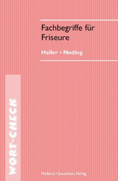 Fachbegriffe für Friseure - Josef Haller
