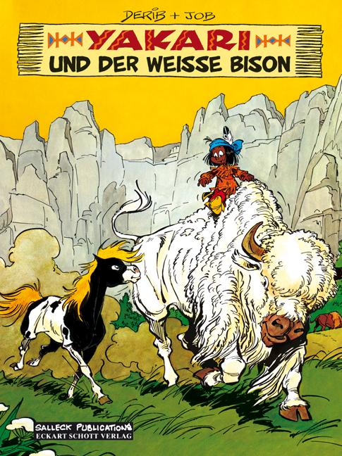 Yakari 02: Y. und der weiße Bison - Dérib