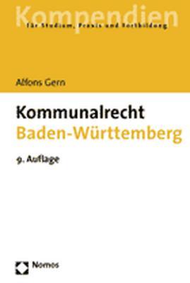 Kommunalrecht Baden-Württemberg: Einschließlich...