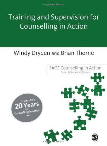 Training and Supervision for Counselling in Action (Sage Counselling in Action)