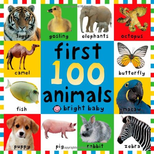 First 100 Animals (First Words (Priddy Books)) ...