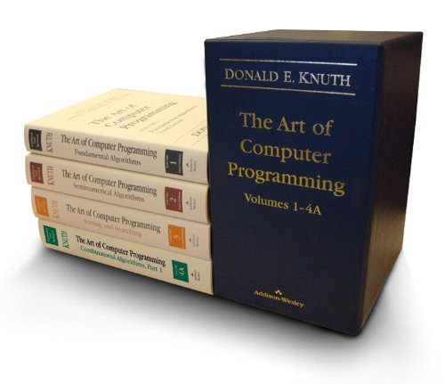 The Art of Computer Programming, Volumes 1-4: 1-4A (Box Set) - Donald E. Knuth