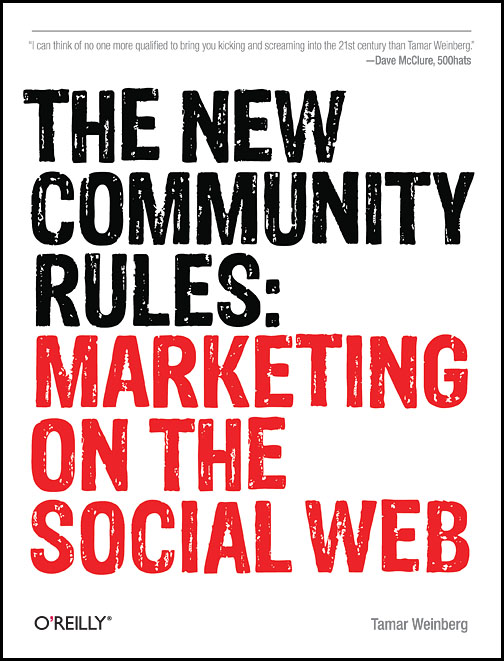 The New Community Rules - Tamar Weinberg