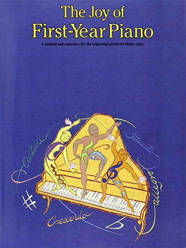 Joy of First Year Piano. Klavier (Music)
