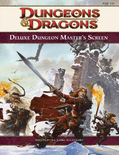 Deluxe Dungeon Master´s Screen: A 4th Edition D...