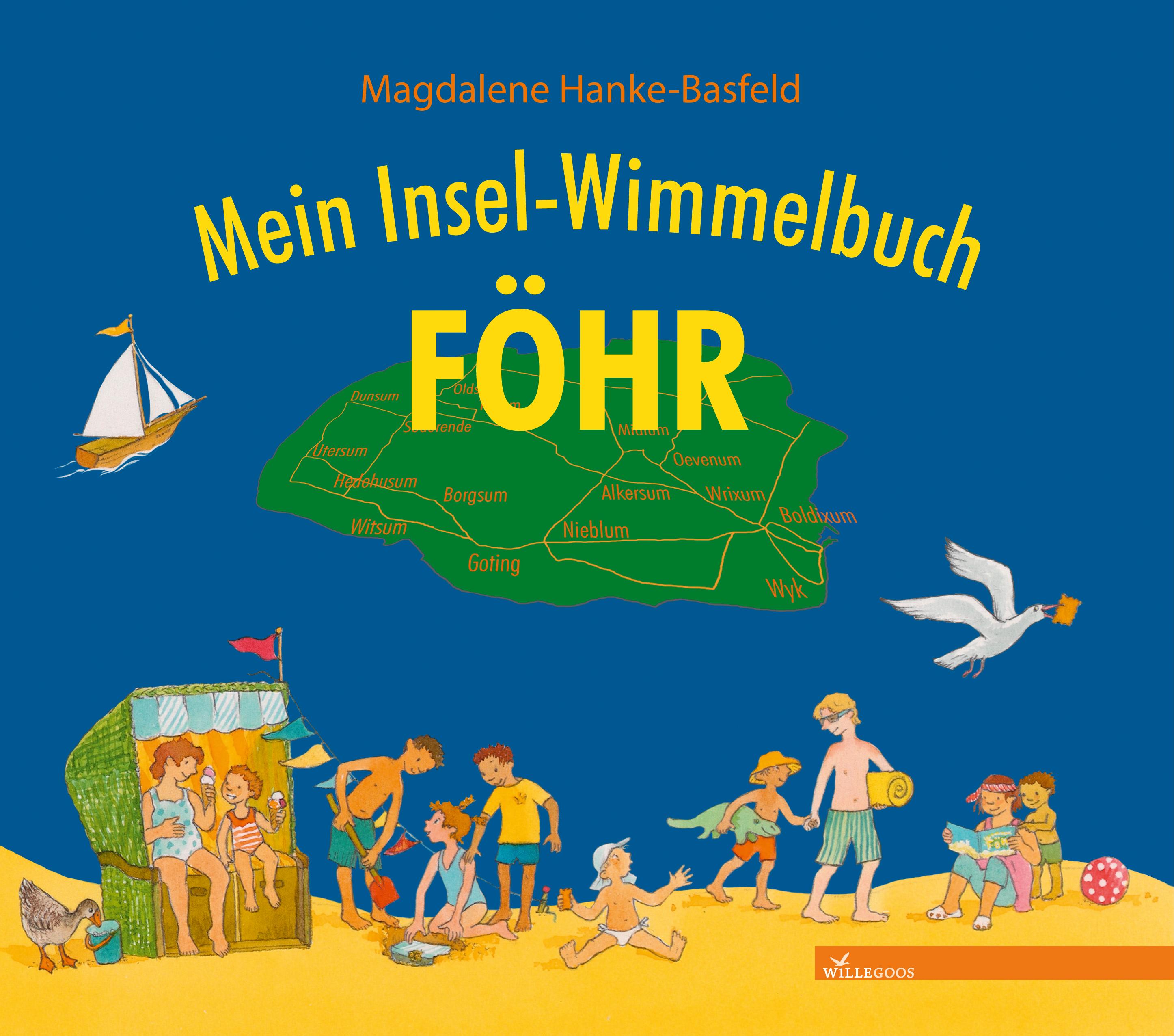 Mein Insel-Wimmelbuch Föhr - Magdalene Hanke-Basfeld (Illustration)
