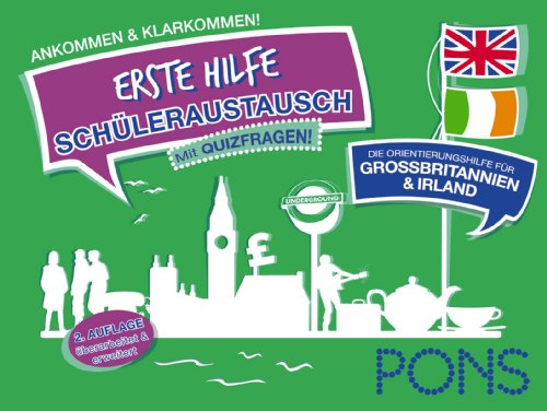 PONS Schüleraustausch-Wegbegleiter Großbritanni...