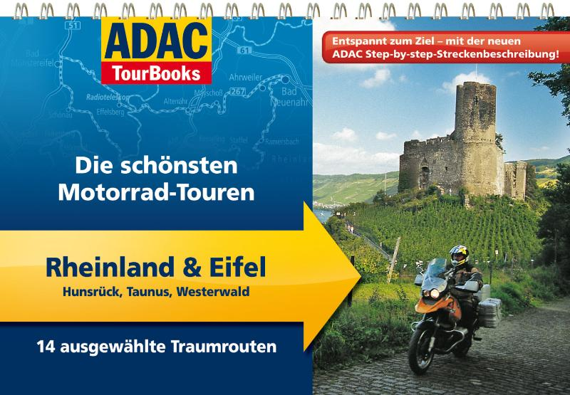 ADAC TourBooks Rheinland & Eifel: Hunsrück, Tau...