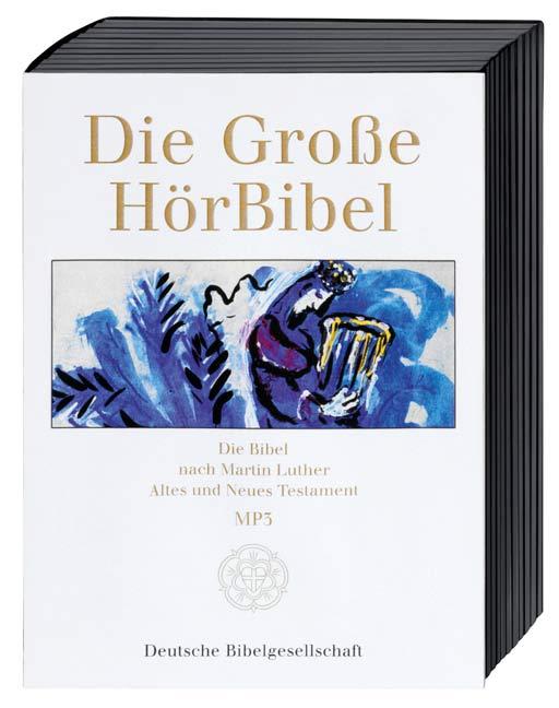 Die Große HörBibel nach Martin Luther: Gesamtausgabe (MP3-Version)