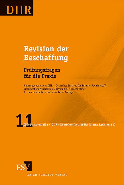 Revision der Beschaffung: Prüfungsfragen für die Praxis - Arbeitskreis Beschaffung