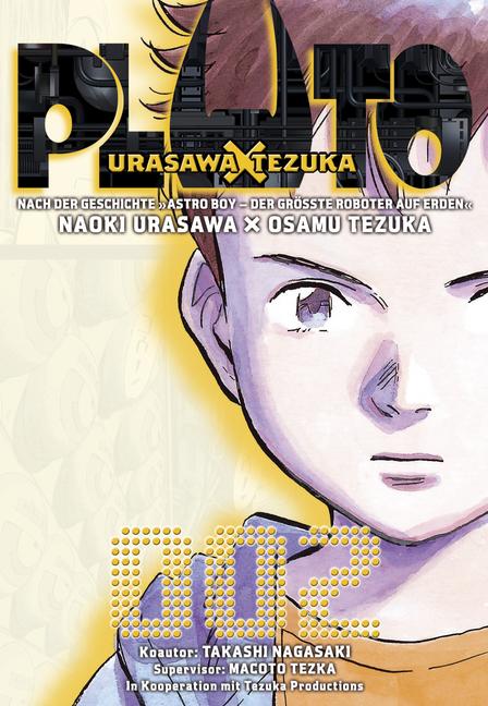 Pluto: Urasawa X Tezuka, Band 2 - Takashi Nagasaki