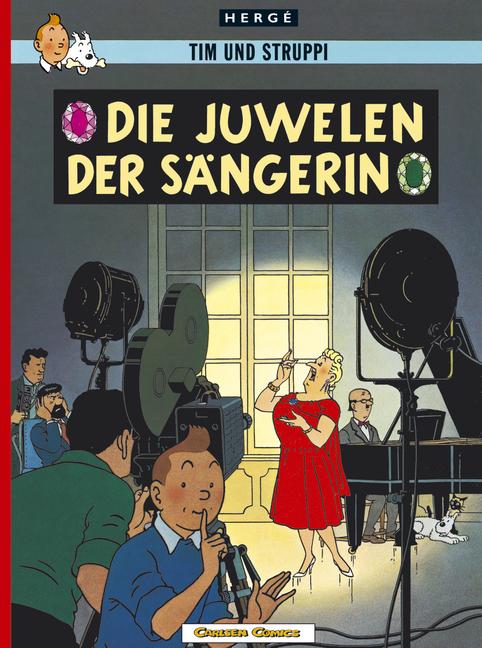Tim und Struppi 20: Die Juwelen der Sängerin - Hergé