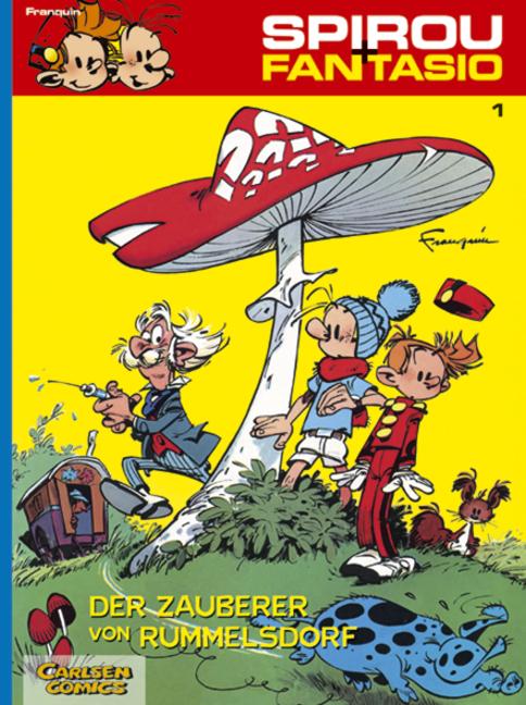 Spirou und Fantasio 01. Der Zauberer von Rummelsdorf - André Franquin