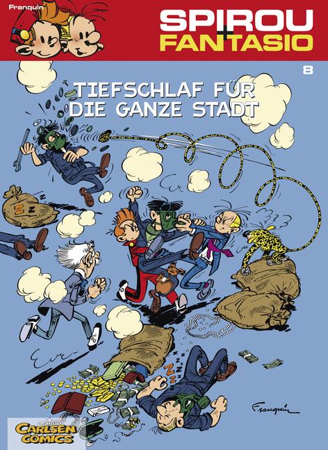 Spirou & Fantasio, Band 8: Tiefschlaf für die ganze Stadt: (Neuedition) - André Franquin