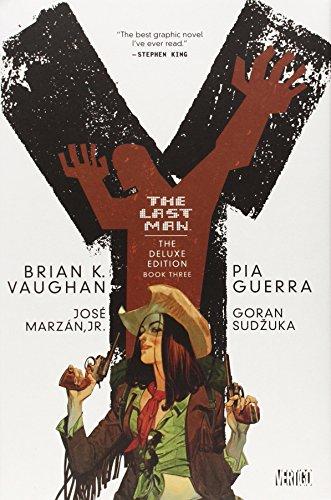 Y the Last Man Deluxe Edition Book Three - Brian K. Vaughan