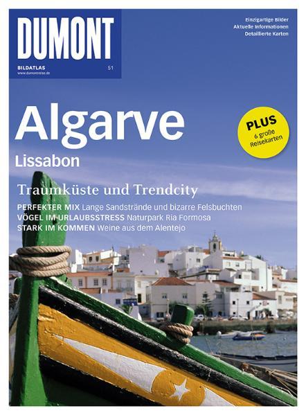 DUMONT BILDATLAS 51 Algarve, Lissabon - -