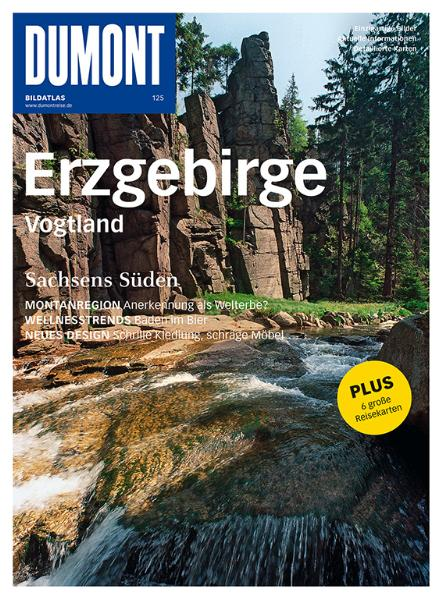 Erzgebirge / Vogtland: Sachsens Süden. Einzigartige Bilder. Aktuelle Informationen. Detalierte Karten - Astrid Pawassar