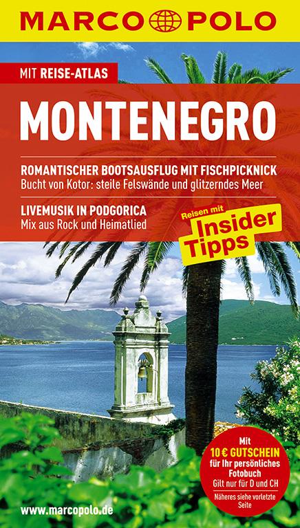 MARCO POLO Reiseführer Montenegro: Mit Reiseatl...