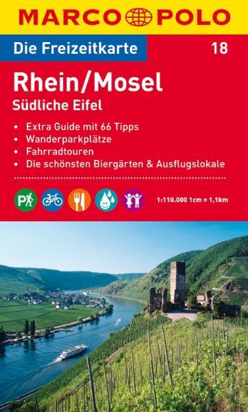 MARCO POLO Freizeitkarte 18 Rhein / Mosel / Süd...
