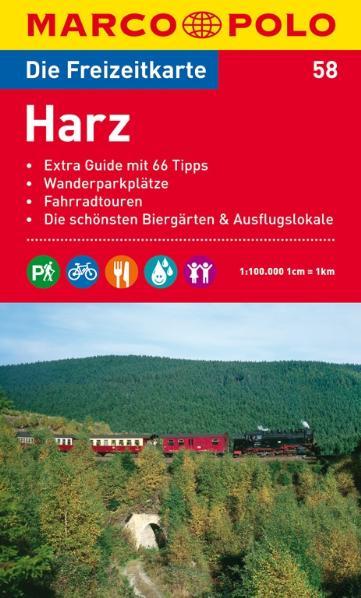 Marco Polo Freizeitkarte Blatt 18 Harz [Landkarte]