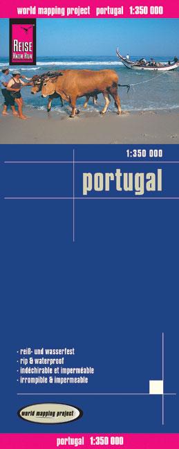 Portugal 1 : 350 000: Kartenbild 2seitig, klass...