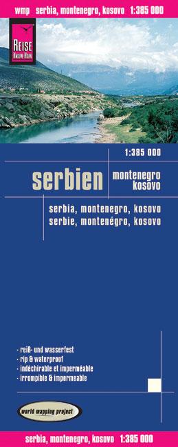 Serbien, Montenegro, Kosovo 1 : 385 000: Karten...